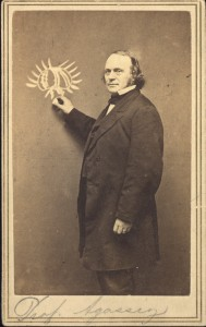 An Example Of A More Traditional Carte De Visite In Both Size And Format Is Illustrated By This Museum Comparative Zoology Founder Louis